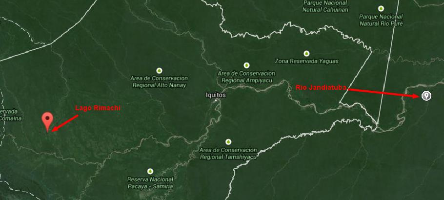Rimachi Lake Google Maps